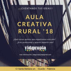 AULA CREATIVA RURAL 18/19