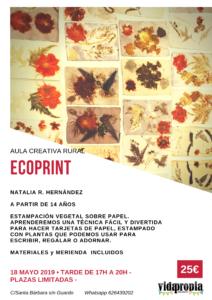 Ecoprint y Cosmética Natural